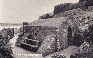 St. Trillo Church Rhos on Sea North Wales 5632 RPC Postcard