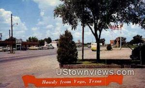 US 66 Highway Vega TX Unused