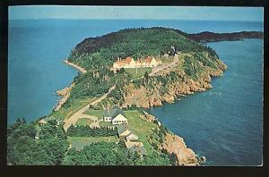 Nova Scotia, Canada Postcard, Aerial View Of Keltic Lodge