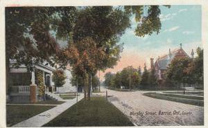 BARRIE , Ontario , 1910s ; Worsley Street