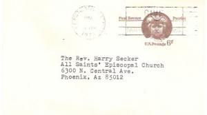 US Pre-stamped used Postcard UX58 Paul Revere