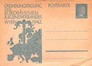Europaischen Jugendverbanes 1942 Wien Austria Unused