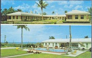 Juno Beach FL - Juno-By-The-Sea Motel, 1100 Ocean Drive, 1960s