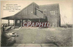 Old Postcard Beaumont Hamel Newfoundland's House Park Commemorative Newfoundl...