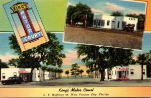 Florida Panama City King's Motor Court