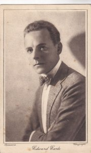 EDWARD EARLE, Canadian-American stage, film and television actor, 1910-50s