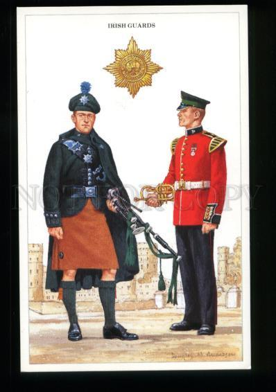 137228 British Army Irish Guards Piper & Musician by Anderson