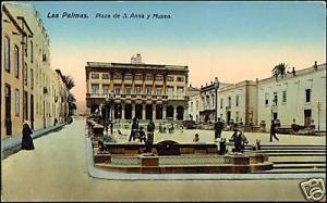 spain, LAS PALMAS, Gran Canaria, Plaza de S. Anna 1910s