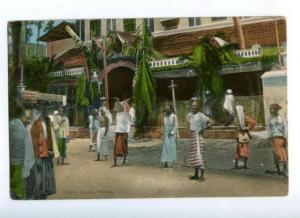 172085 Malaysia Chetty Temple Penang Vintage postcard