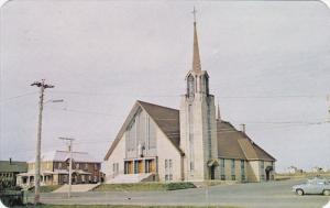 Eglise de Notre-Dame de Paspebiac , Cte Bon. , Quebec , Canada , 50-60s