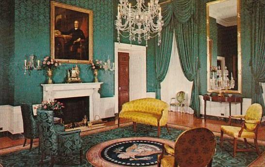 White House Green Room Washington DC