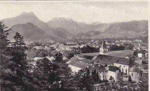 Panorama, St. Zeno, Bad Reichenhall (Upper Bavaria), Germany, PU-1902