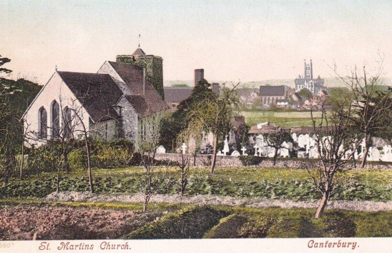 CANTERBURY, Kent, England, 1900-1910s; St. Martins Church