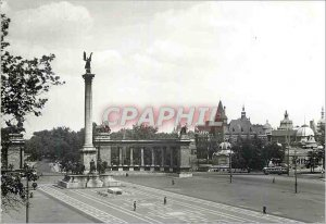 Modern Postcard Budapest millenary monument