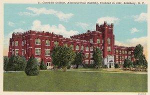 SALISBURY, North Carolina, 30-40s; Catawba College, Administration Building