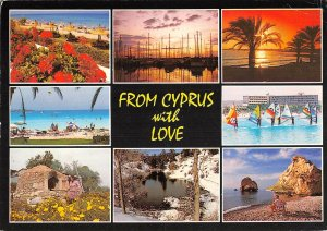 B108929 From Cyprus with Love, Beahc Promenade Harbour Boats Plage