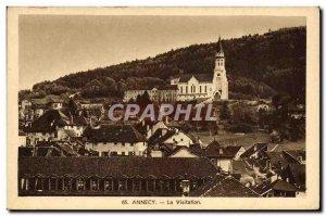 Old Postcard Annecy Visitation