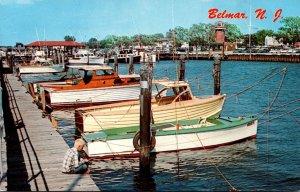 New Jersey Belmar Shark River Boat Basin 1963