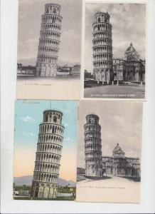 TOWER OF PISA TOUR DE PISE CAMPANILE ITALY ITALIE 27 CPA (mostly pre-1940)