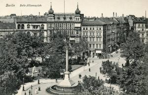 Germany - Berlin. Belle-Allianceplatz