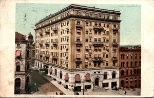 New York Albany The Ten Eyck Hotel 1911 Detroit Publishing