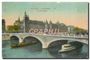 Old Postcard Paris La Conciergerie