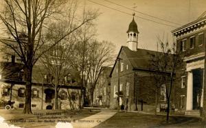 NC - Winston-Salem. Home Moravian Church circa 1914. *RPPC* Damaged card but ...