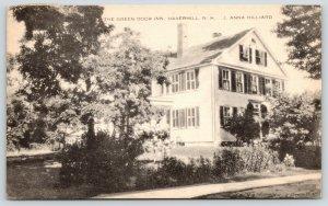 Haverhill New Hampshire~Green Door Inn~Off Dartmouth College Highway~1930s B&W