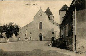 CPA Chagny L'Eglise FRANCE (952601)