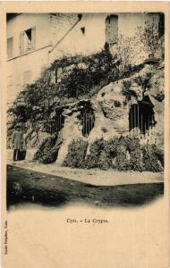 CPA UZES - La Crayte (458550)