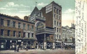 Newark Theatre, Market Street Newark, NJ, USA Postcard Post Cards Old Vintage...