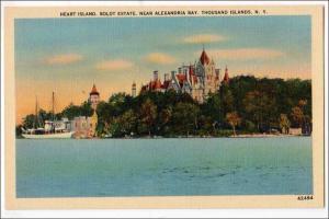 NY - Heart Island, Boldt Estate, Alexandria Bay, 1000 Islands