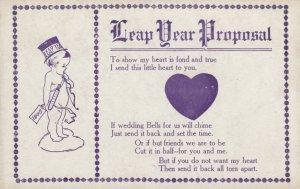 LEAP YEAR Proposal 1908