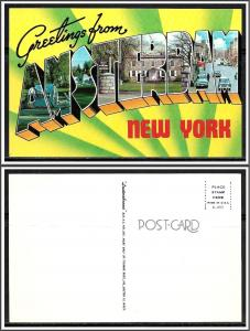 New York Amsterdam Greetings From - [NY-213]