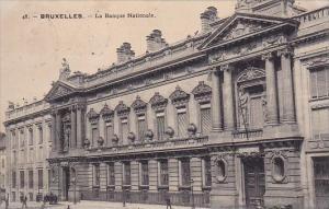 Belgium Brussells La Banque Nationale 1910
