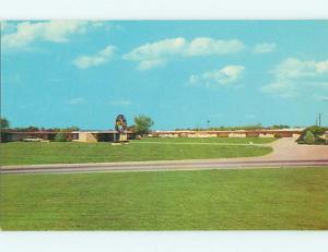 Unused Pre-1980 CLOCK INN MOTEL Oklahoma City Oklahoma OK s3686
