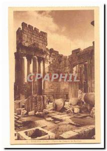 Syria Baalbek CARTE Postal Parvis Old Temple of Bacchus