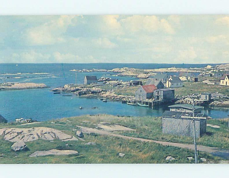 Pre-1980 BUILDINGS ALONG SHORELINE Prospect Near Halifax & Dartmouth NS F4261-12