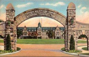 Colorado Colorado Vista Of The Union Printers Home 1938 Curteich