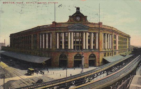 South Terminal Station Boston Massachusetts 1910