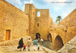 B96419 kyrenia interior of the medieval castle cyprus