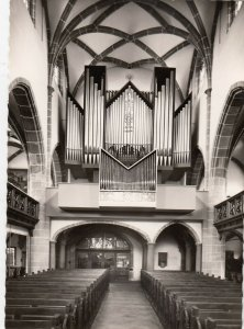 RP: BAYREUTH, Germany, 30-40s ; Evang-Luth. Church , Pipe Organ