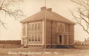 Osterville MA Cape Cod School House in 1914 RPPC Postcard