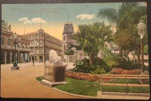 Postcard Unused Central Park & Plaza Hotel Havana Cuba No 108 LB