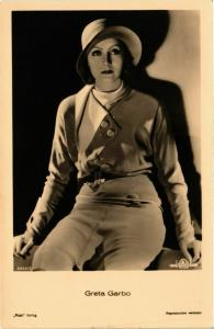 CPA Ross Verlag 5922 2 Greta Garbo FILM STARS (816038)