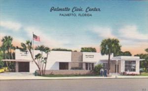 Florida Palmetto Warren Tresca Civic Center & Post Office