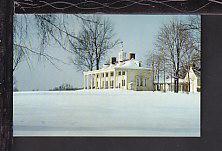 East Front,Mount Vernon,VA Postcard BIN