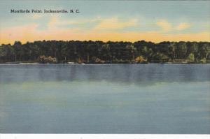 North Carolina Jacksonville Montfords Point
