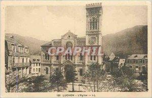 Old Postcard Luchon Church