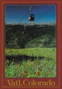 Colorado Vail High Speed Gondola Ski Lift